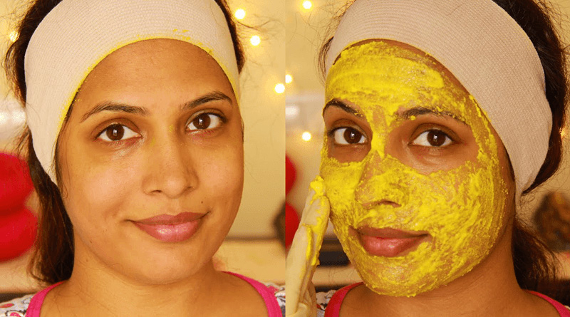 Home Remedy for Removing Hair with Turmeric