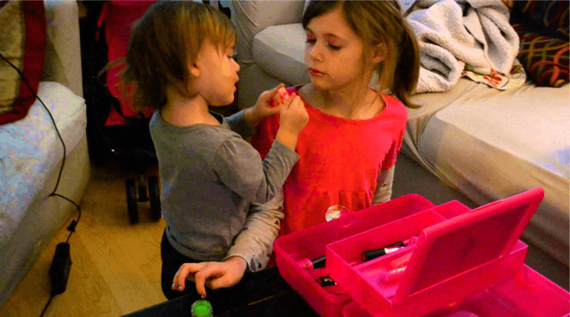 How Makeup Harms Skin of Little Girls