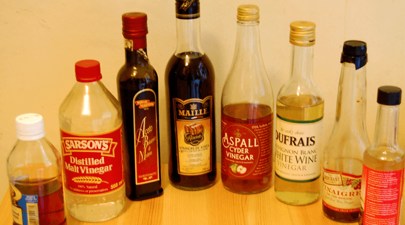 Different Types of Vinegars and their Uses