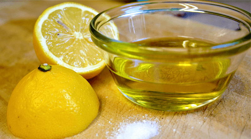 Healing Properties of Olive Oil with Lemon Juice