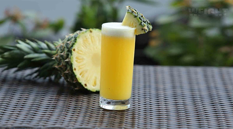 Homemade Pineapple syrup to combat Cough and Inflammation