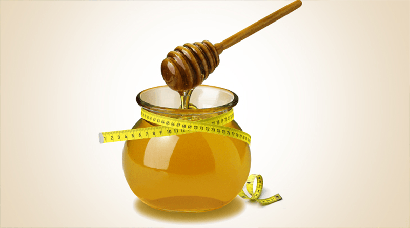 A daily Teaspoon Honey serves Weight Loss