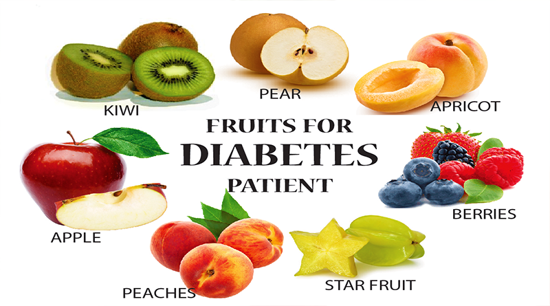 Diabetics eating fruits