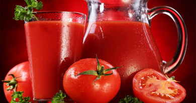 Eating tomatoes helps lose weight