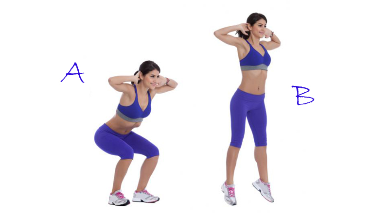 How to do squats correctly at home