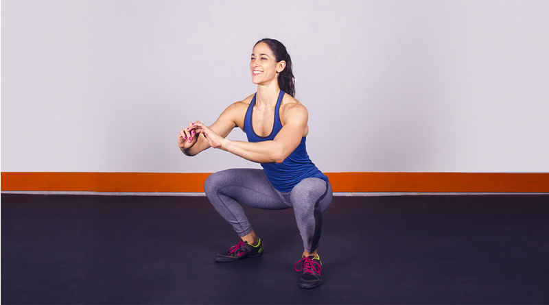 How to do squats correctly at home1